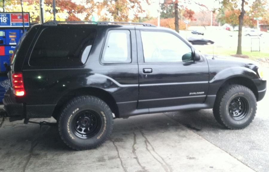 this image has been resized click this bar to view the full image - Ford Explorer Sport 2001 Lifted