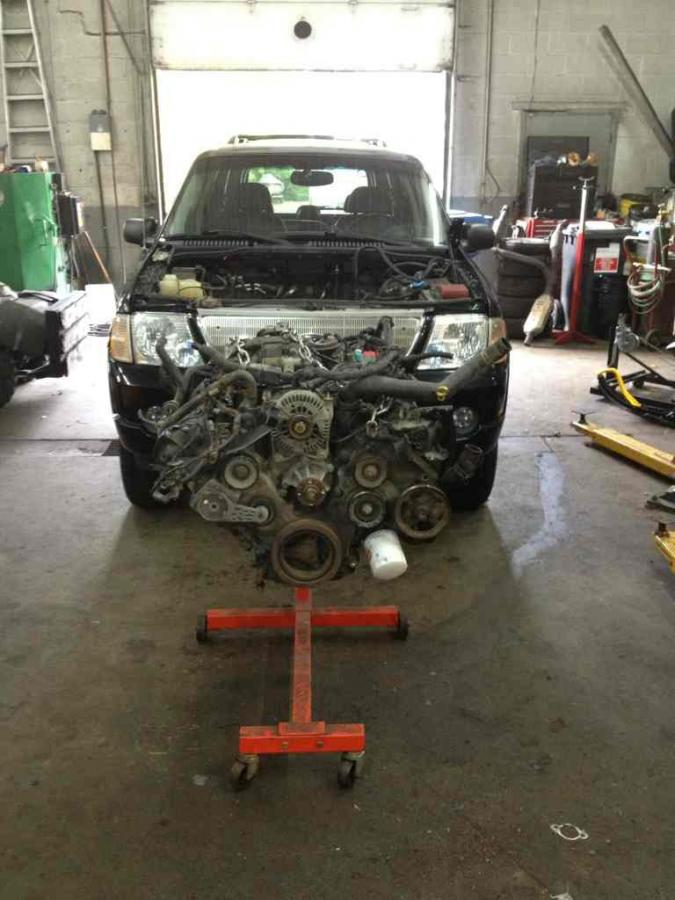 Ford Explorer Exhaust Leak >> 2002 4 6 Manifold Leak Ford Explorer Forum Forums For