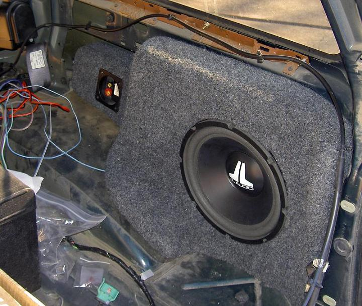 how to add subwoofer to factory stereo