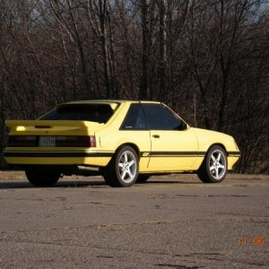 '85 mustang GT bought it in '96 as a silver daily driver, now i pay to store it most of the year